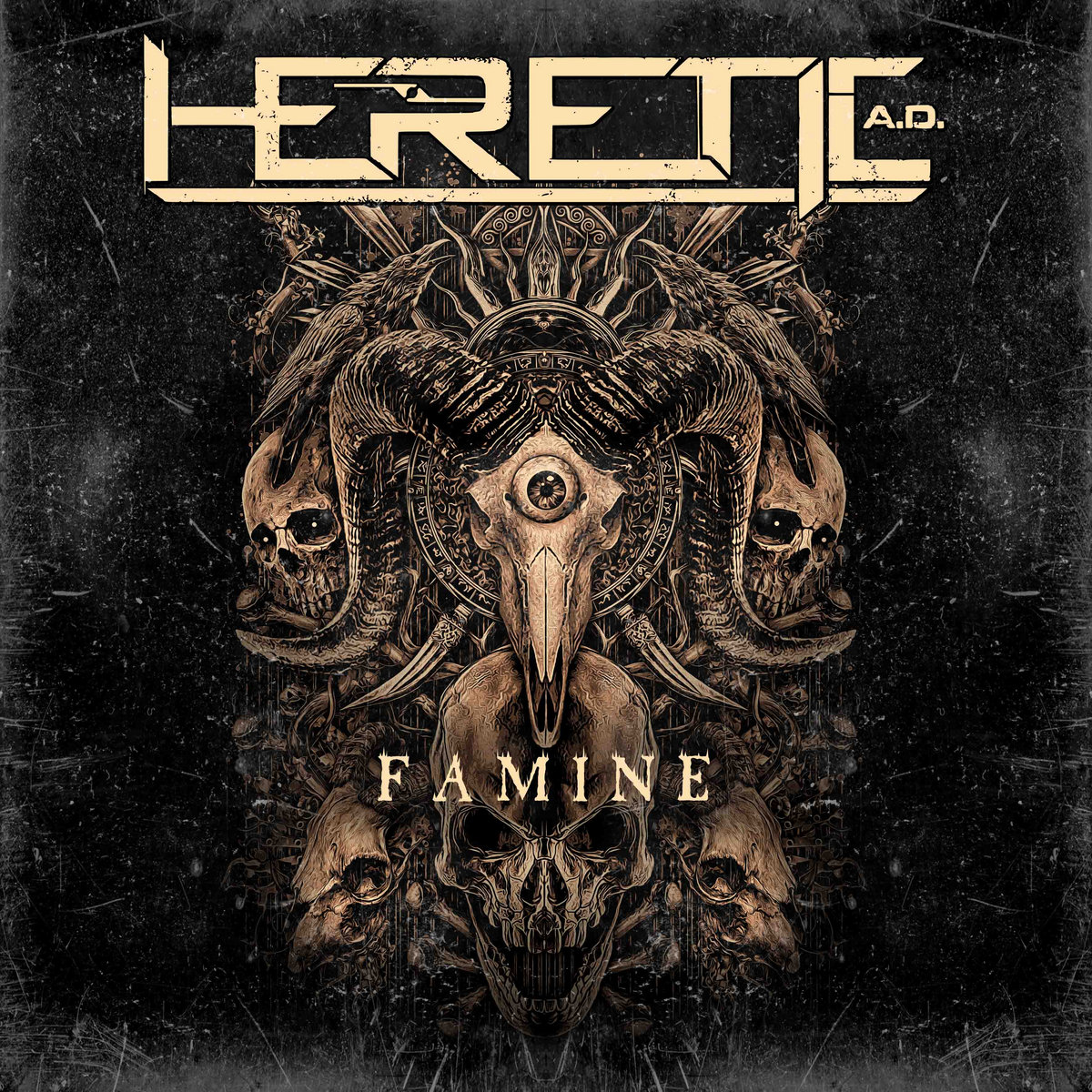 Heretic A.D. - Famine [EP] (2017)