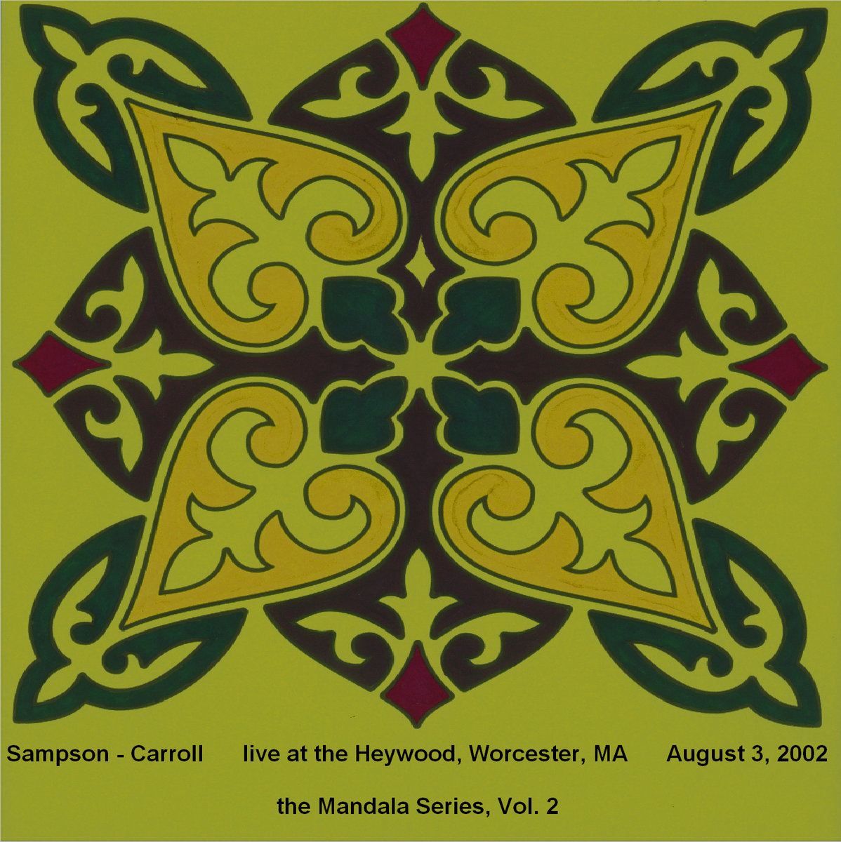 Sampson - Carroll: Heywood Part - Mandala Vol. 2