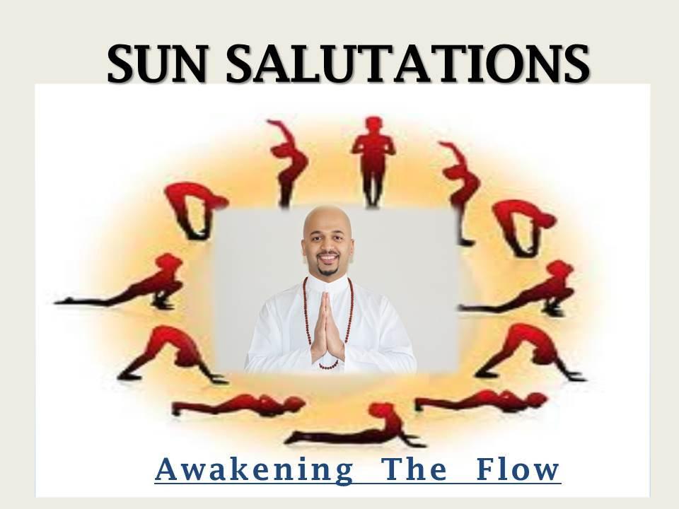 Sun Salutations - Suryanamaskar Mantra | Shop for your Karma
