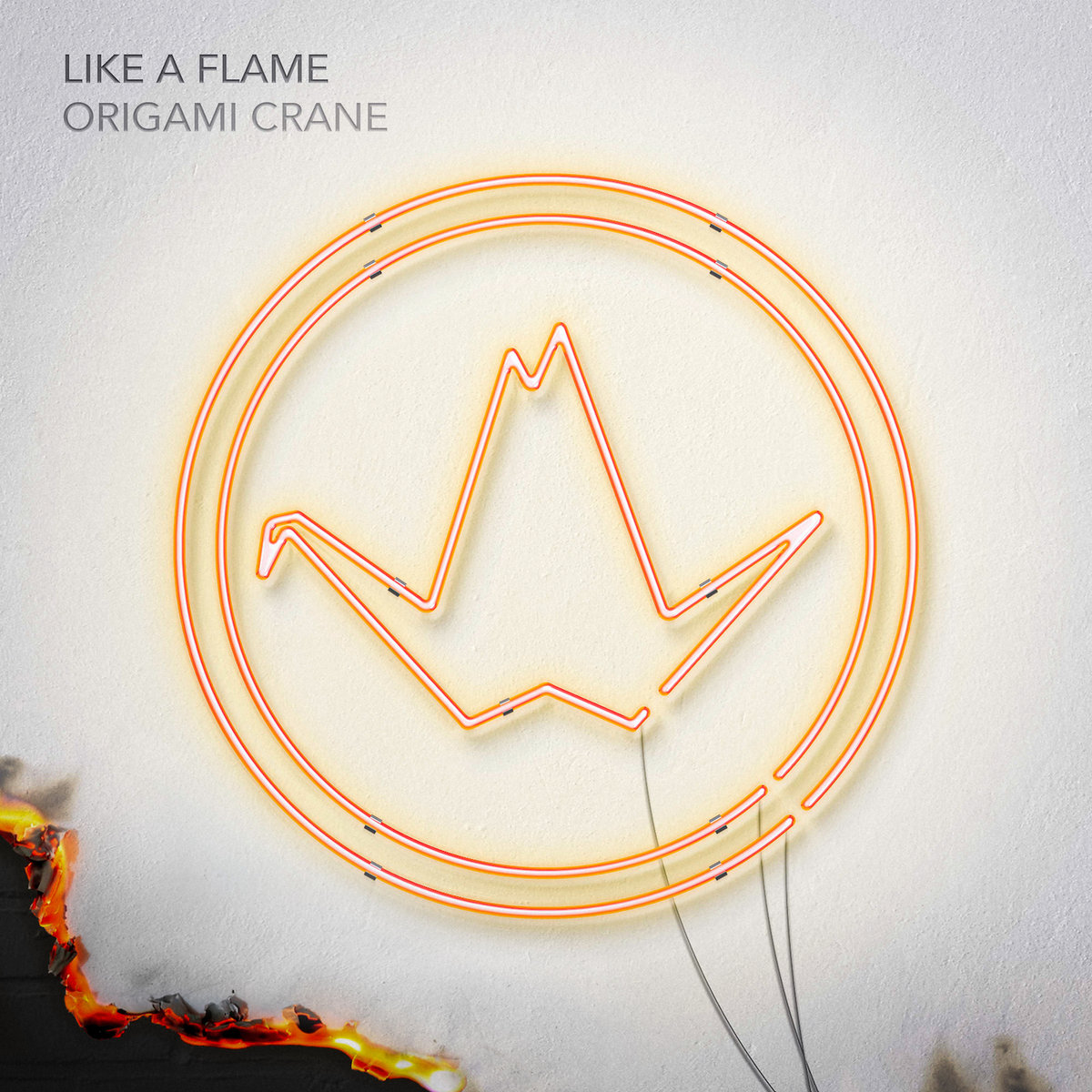 Like a Flame by Origami Crane