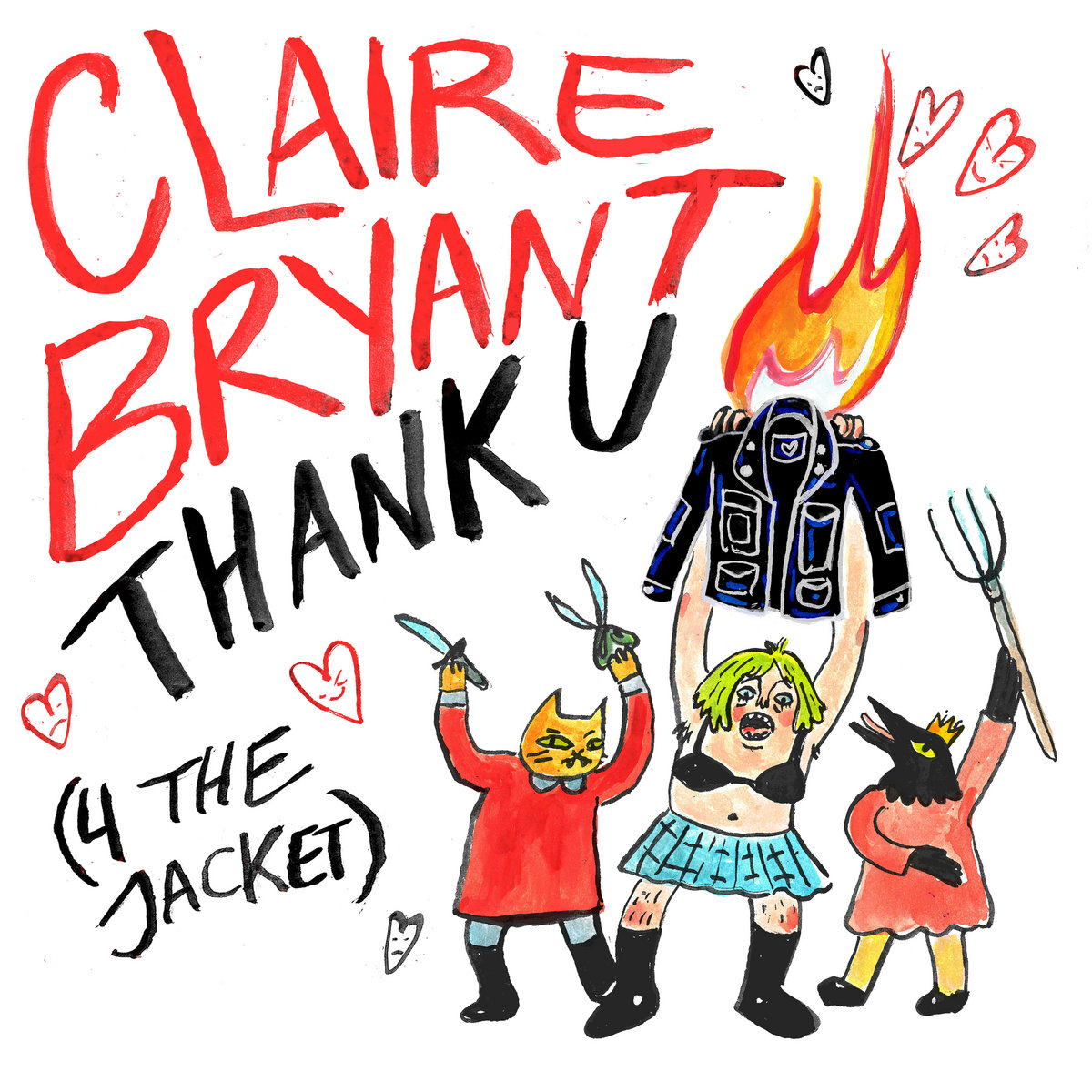 Thank U (4 the Jacket) by Claire Bryant