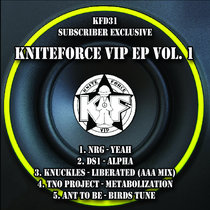 KFD31 - Kniteforce VIP EP Vol.1 (VIP ONLY) cover art