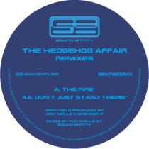 The Hedgehog Affair Remixes cover art