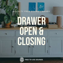 Drawer Sounds! Drawer Opening & Closing Sound Effect cover art