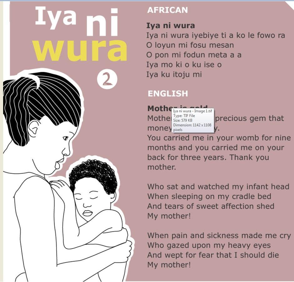 Love Letter In Yoruba Language. Yoruba Language, Alphabet