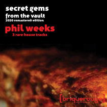 [BR139] : Phil Weeks : Secret Gems From The Vault (Three Rare House Tracks Remastered) - [briquerouge] cover art