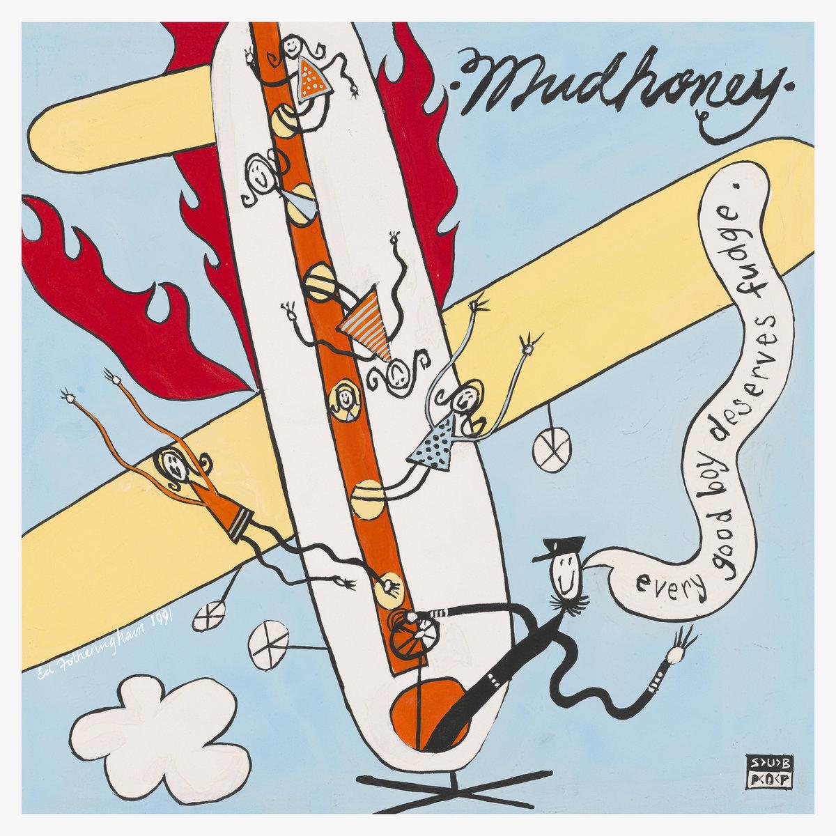 """Mudhoney, in arrivo un 7"""" e la ristampa di """"Every Good Boy Deserves Fudge"""" 2 - fanzine"""
