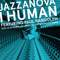 I Human feat. Paul Randolph Remixes 1 (Soul Clap / 2000black / G.I. DISCO) cover art