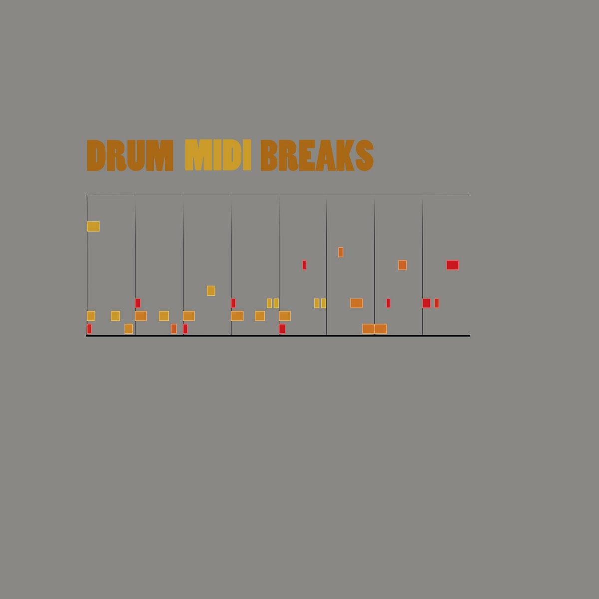 DRUM BREAKS in MIDI (free) | mpc head