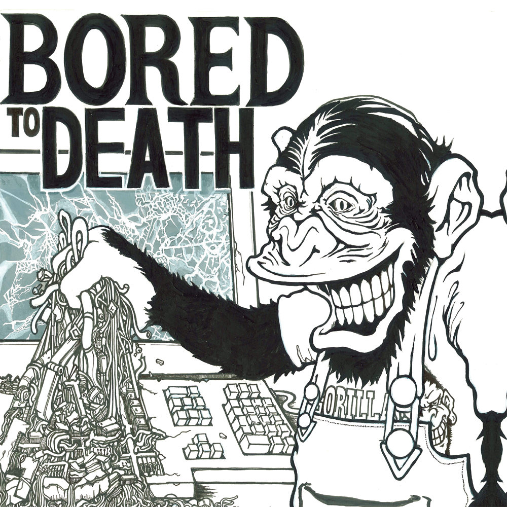 Bored To Death Ep Sorry State Records