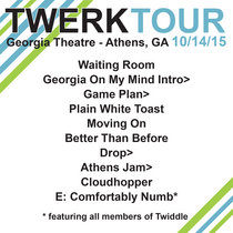 LIVE @ Georgia Theatre - Athens, GA 10.14.15 cover art