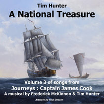 A National Treasure - Volume 3 of Songs from 'Journeys: Captain James Cook' cover art