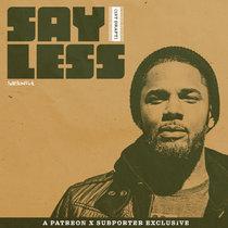 Say Less (1st Draft) cover art