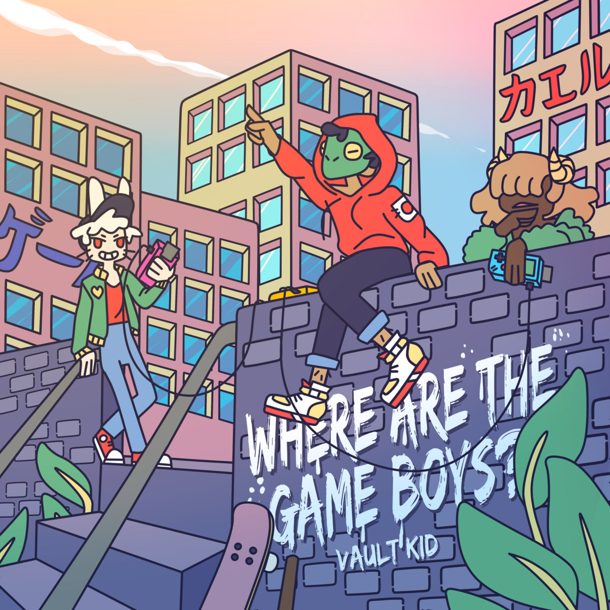 Vault Kid – Where Are The Game Boys? EP