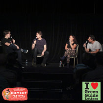 Ep 066 : LIVE! Pete Holmes, Kate Langbroek & Merrick Watts love the 04/04/13 Letters cover art
