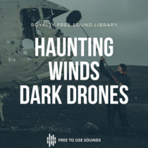 Haunting Winds, Scary Room Tone & Dark Drones Crashed Aircraft Iceland cover art