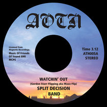 Split Decision Band - Watchin' Out cover art