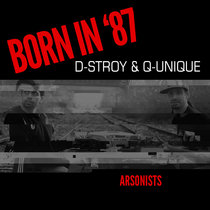 Born In '87 (with DStroy) cover art