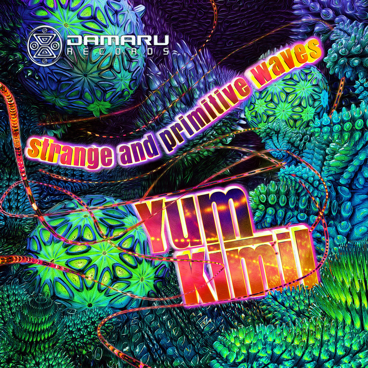 Yum Kimil - Strange and Primitive Waves   Damaru Records