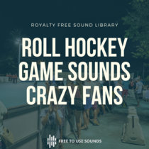 Roller Hockey Sound Effects France! Game Sounds & Intense Fans cover art