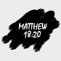 Matthew 18:20 cover art