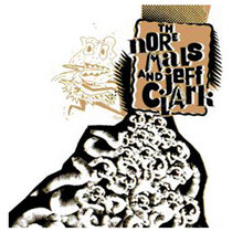THE NORMALS AND JEFF CLARKe 7'' cover art
