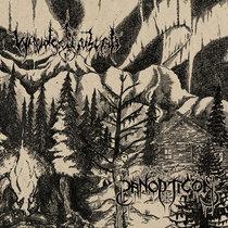 Panopticon & Waldgeflüster (Split album) cover art