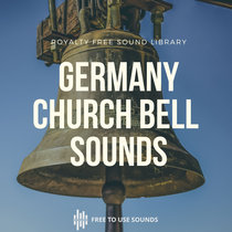 Royalty Free German Church Bell Sound Effects cover art