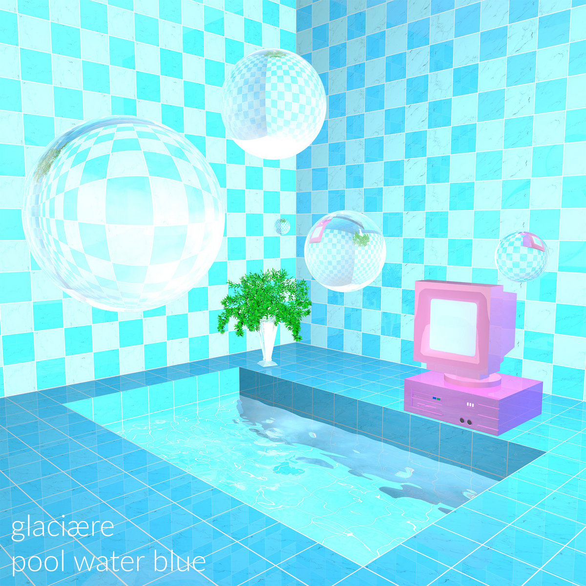 pool water. From Pool Water Blue By Glaciære