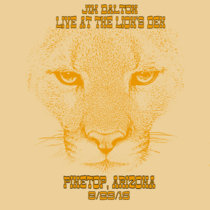 Live at the Lion's Den August 29, 2015 cover art