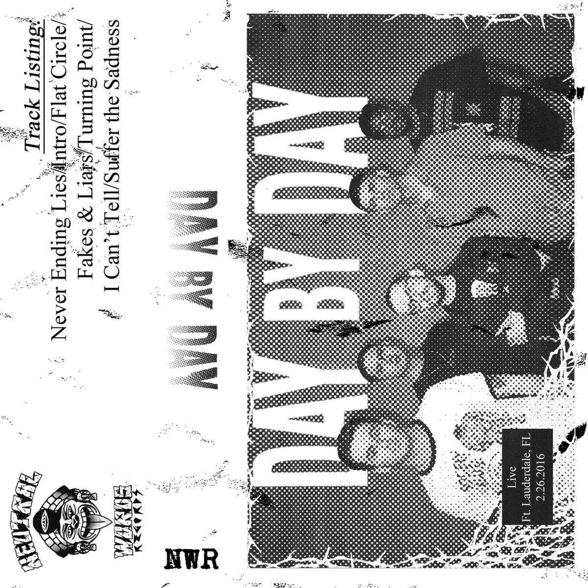 NWR #018 DAY BY DAY \'Live Cassette\' + Digital Bonus LP Tracks ...