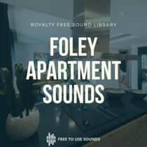 Apartment Sound Effects Spain -Clicks, Doors, Water  & Utensils cover art