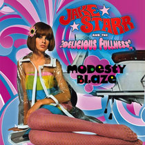"Modesty Blaze 10"" EP cover art"
