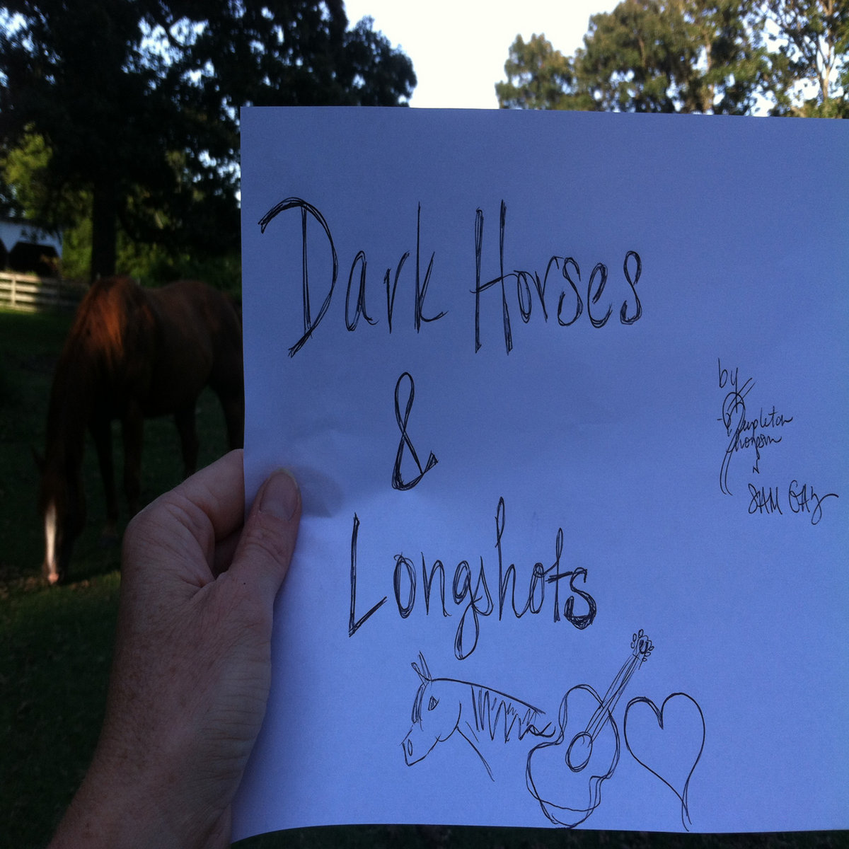 Dark Horses & Longshots ~ American Pharoah version by Templeton Thompson