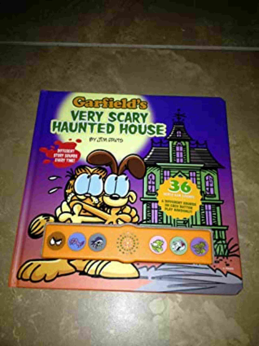 Garfield S Very Scary Haunted House Sound Book Flower Pot Press Kupodat