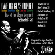 Live at Village Vanguard - Dave Douglas Quintet [2009] cover art