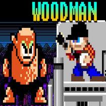 Mega Man 2 - Wood Man cover art