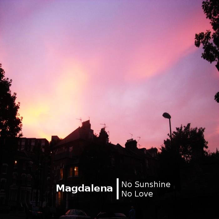 No Sunshine, No Love cover art