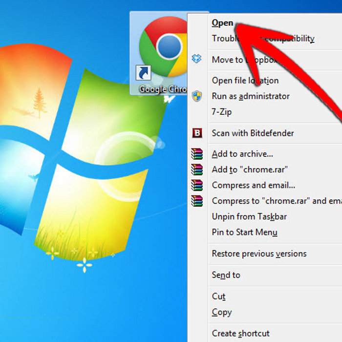 how to reduce desktop icon size in windows vista