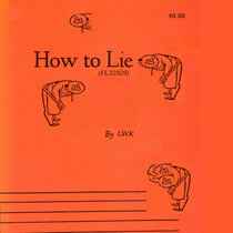 How To Lie cover art
