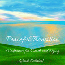 Peaceful Transition: Guided Meditations for Death and Dying Album cover art