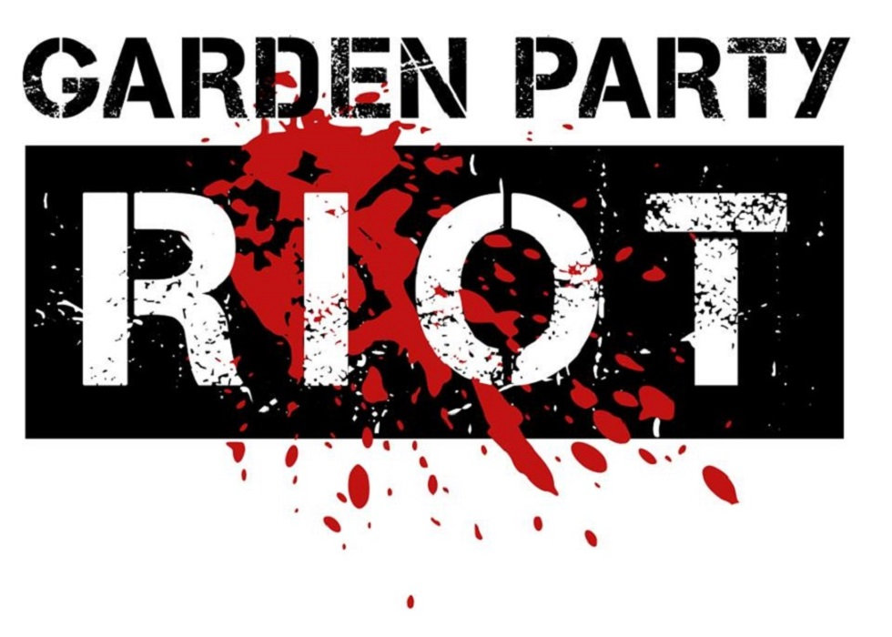 Blue print lie garden party riot by garden party riot malvernweather Choice Image