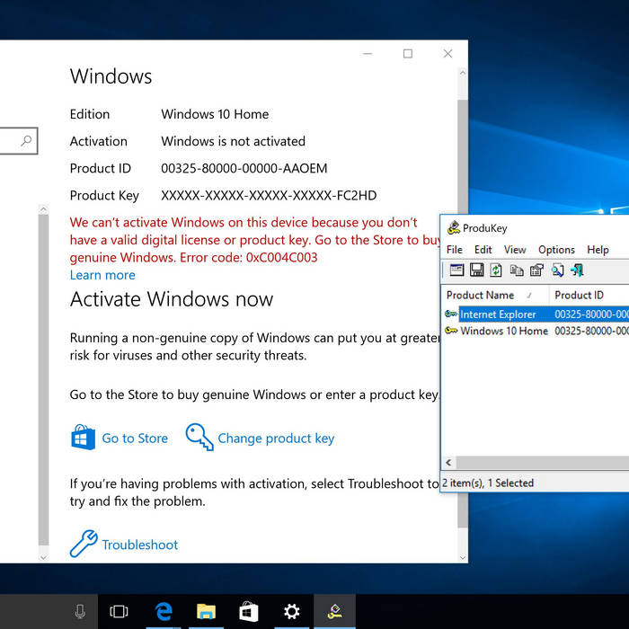 windows parallel keygen
