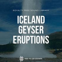 Geyser Eruption Sound Effects Iceland cover art