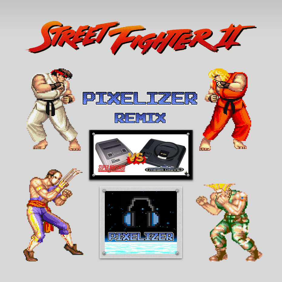 Street Fighter 2 Soundtrack - Snes - Vega Theme - PIXELIZER