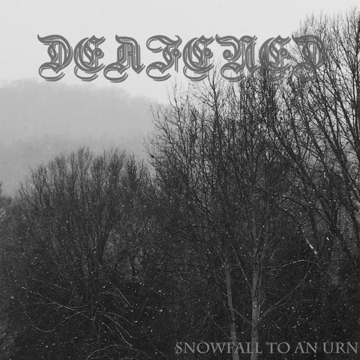 https://deafeneddsbm.bandcamp.com/album/snowfall-to-an-urn