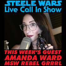 Live Call In Show - Ep 8 : Amanda Ward of MakingStarWars.net & Rebel Grrrl - Listeners calls on Halloween, raising Star Wars kids & much more  ADVERT FREE cover art