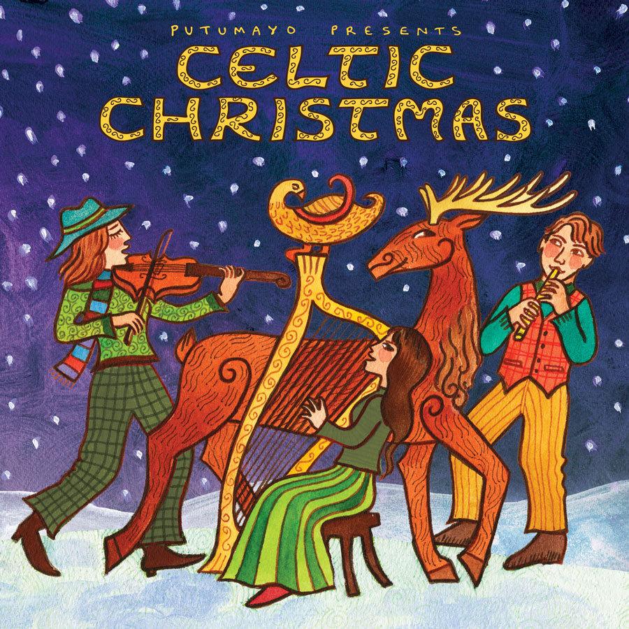 Celtic Christmas.Celtic Christmas Putumayo World Music