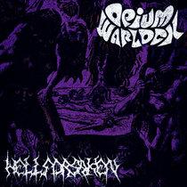 Opium Warlock / HELLFORSAKEN cover art