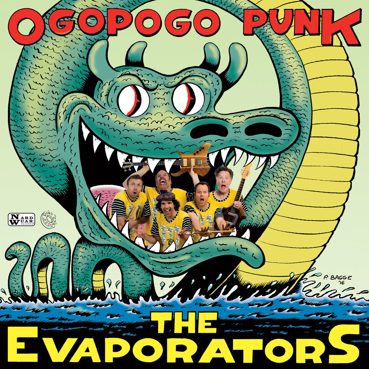Image result for the evaporators ogopogo punk